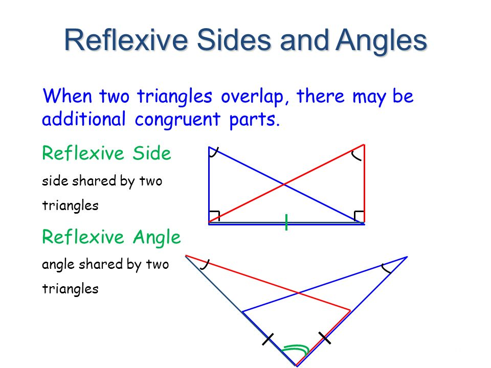 how to tell if triangles are congruent