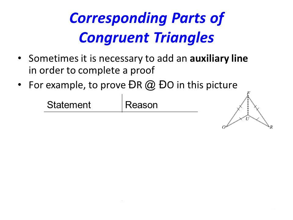congruent triangles part 2 ppt download. Black Bedroom Furniture Sets. Home Design Ideas