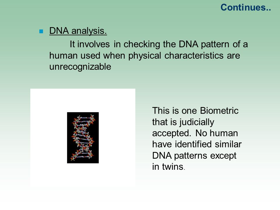 """an analysis of human traits in the dna Dna can't explain all inherited biological traits the helical dna """"ladder"""" are routinely called the human """"genetic code,"""" the dna they comprise."""