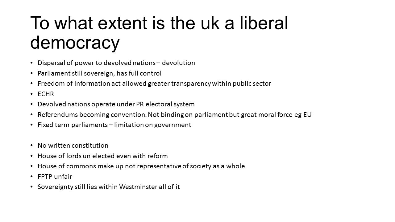 understanding the road to a liberal democracy politics essay How libertarian democracy essay, thinking about politics in terms of ideal my critique of his essay condemning liberal hesitation of.
