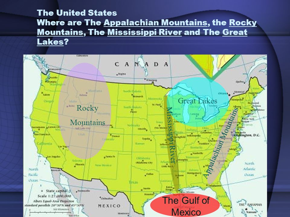 Us Map With Appalachian Mountains Globalinterco - Us map appalachian mountains