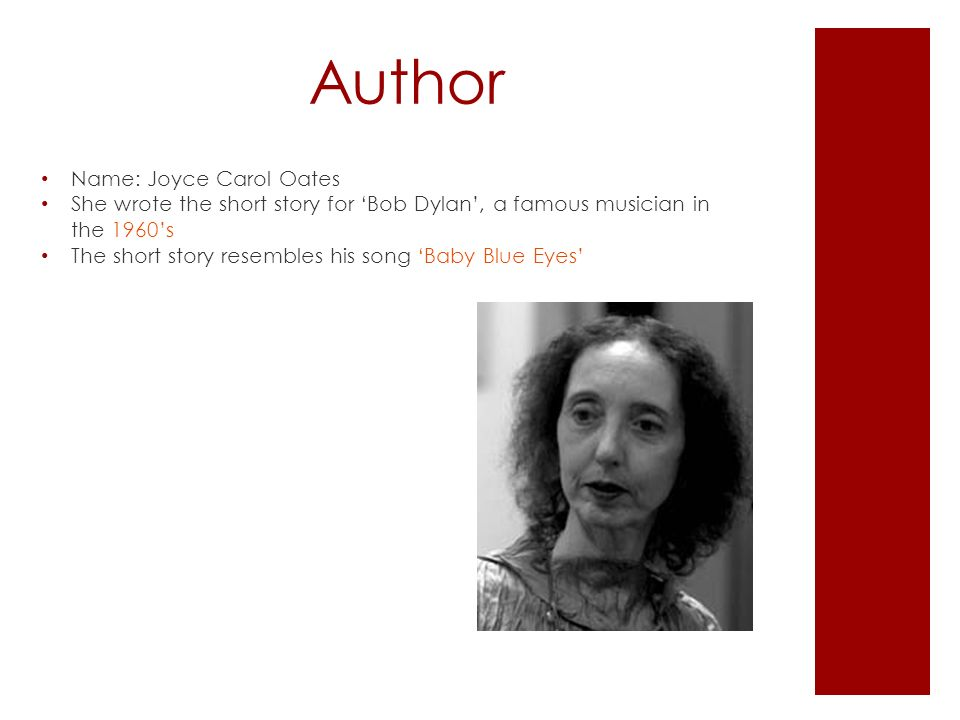 the motif of music in the short story where are you going where have you been by joyce carol oates Joyce carol oates learn  create log in sign up log in sign up 24 terms j_v187 where are you going, where have you been  what literary motif is developed.