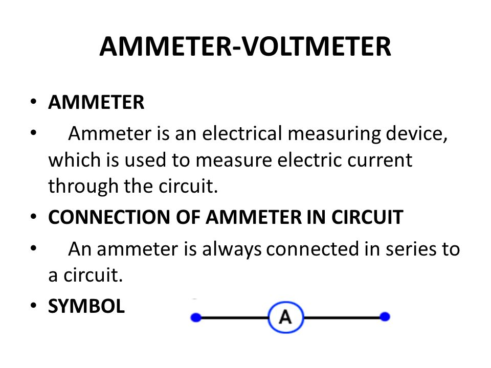 Where Are Ammeters Connected : Magnatism electrostatics ppt video online download