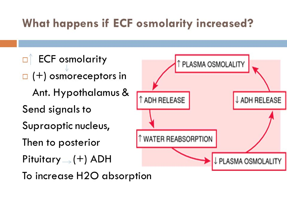 estimaing osmolarity by change in volume Osmolarity is affected by changes in water content increasing their volume and potentially to calculate plasma osmolality use the following.