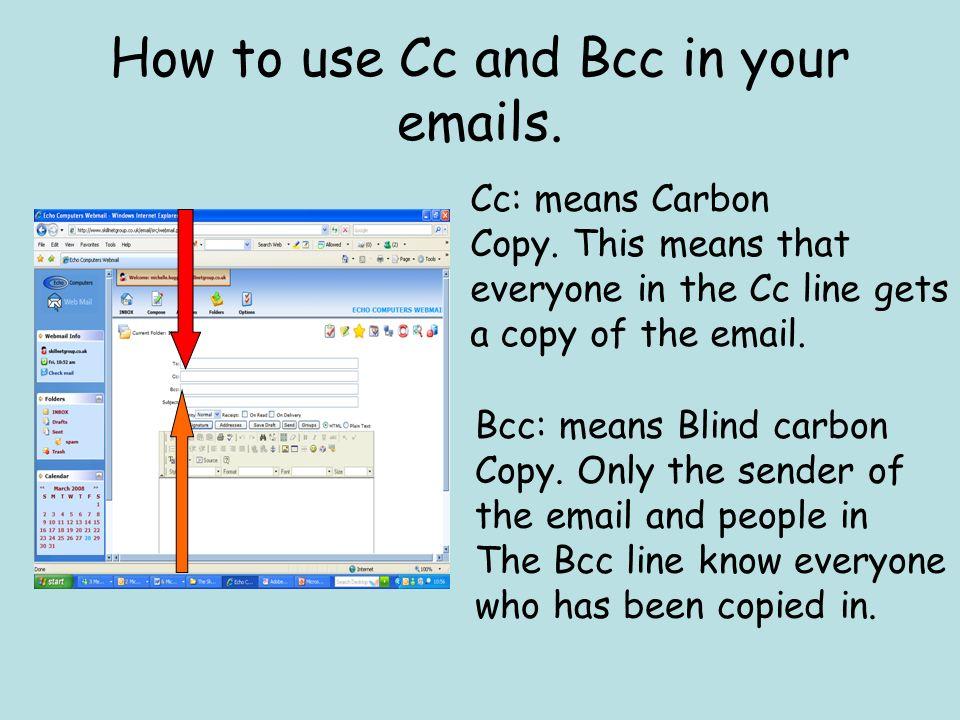 how to make a carbon copy
