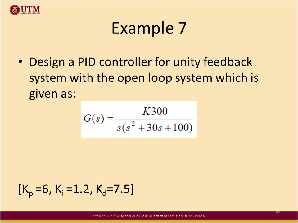 Skee 3143 Control Systems Design Chapter 2 Pid
