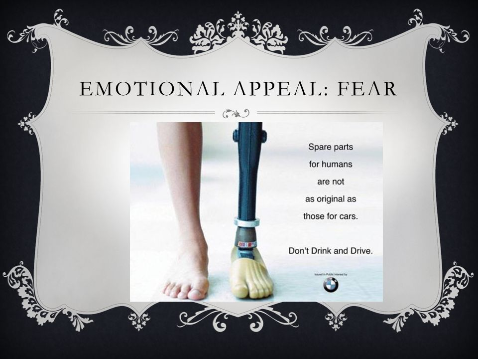 emotional appeal essays Studies have shown emotional and psychological appeals resonate more with  consumers than feature and function appeals in advertising.