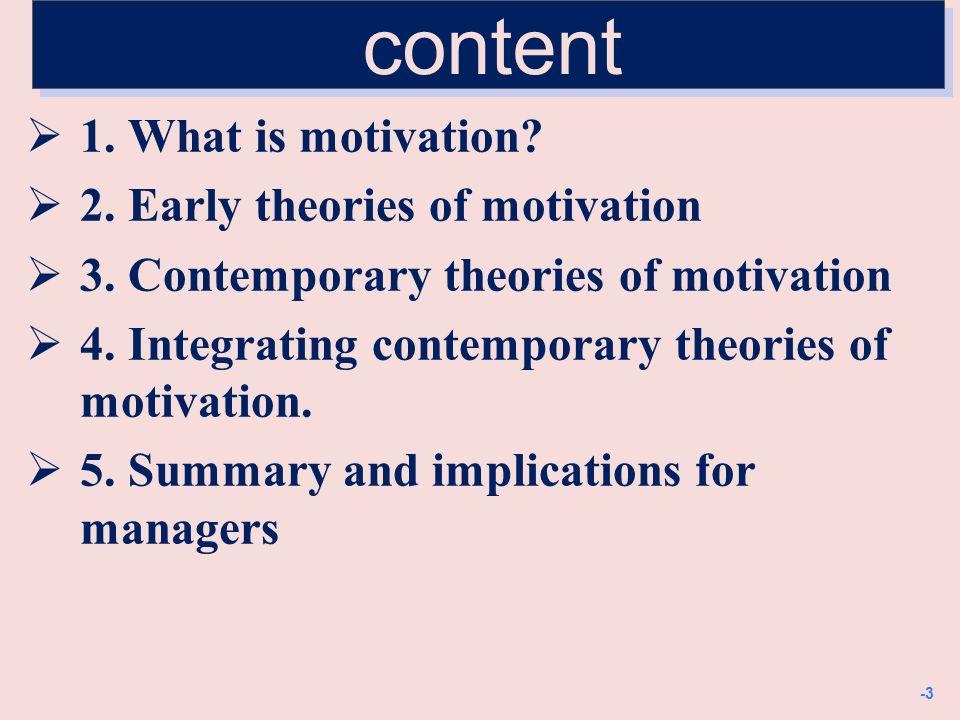 Definition of motivation: