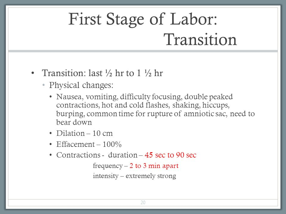 Chapter 16 Labor and Birth Processes