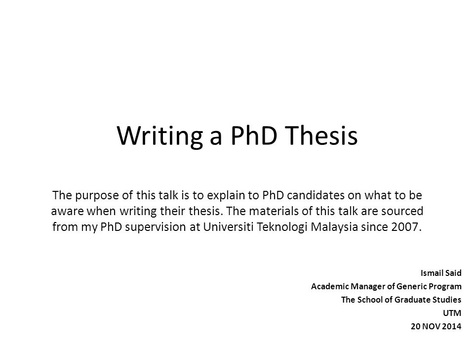write phd thesis word Writing a thesis using microsoft word • microsoft word is the most commonly used text editor but designed predominantly for business.