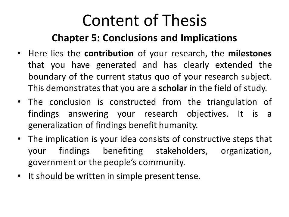 writing phd thesis discussion chapter Guidelines for writing a thesis or dissertation phd how to make a thesis less painful and more satisfying chapter 5: discussion.