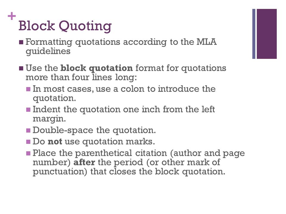 quoting from literature in an essay Mla documentation guide table of contents  double-space every line of the essay,  in the same way you would cite any prose literature (see quoting prose above.