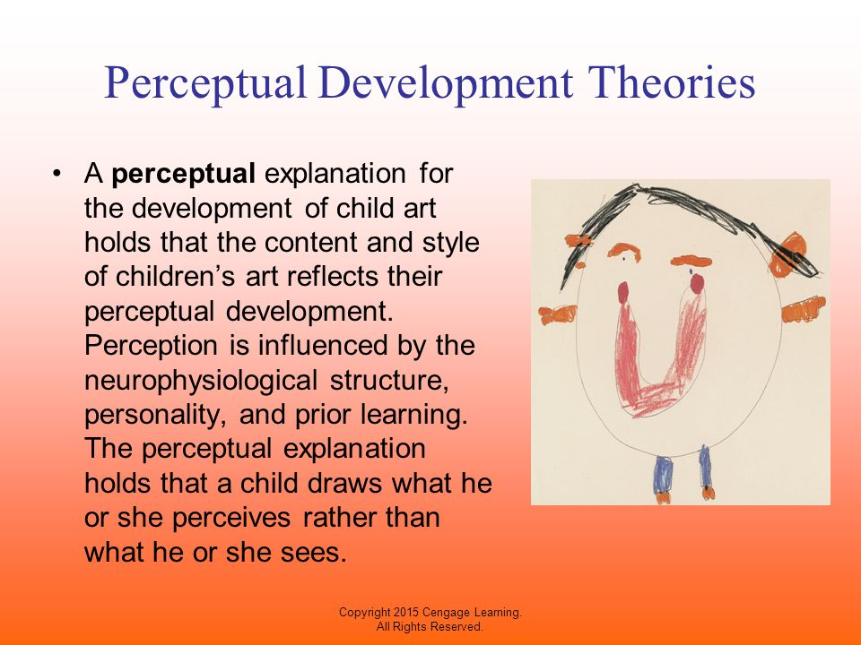 an introduction of the development of cognition and perception in the child Early childhood cognitive development: as mentioned in the introduction, quantifying cognitive change is a bit each child is unique and will grow in his or.