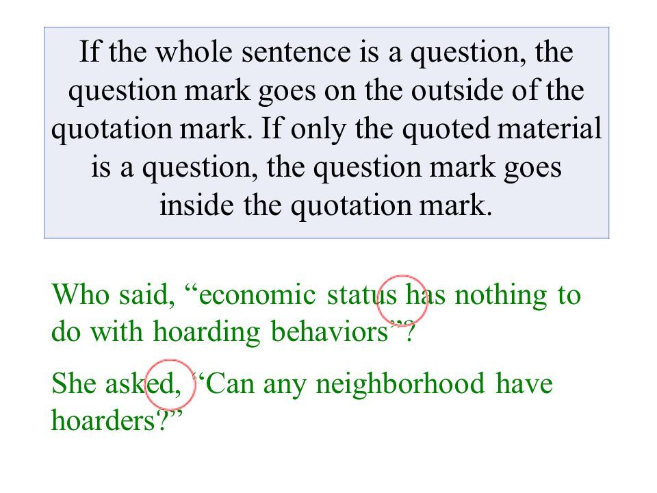 Question Mark With Quotation Marks 1 Satu