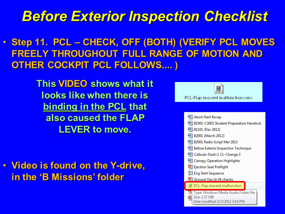 Before exterior inspection ppt download - Exterior home maintenance checklist ...