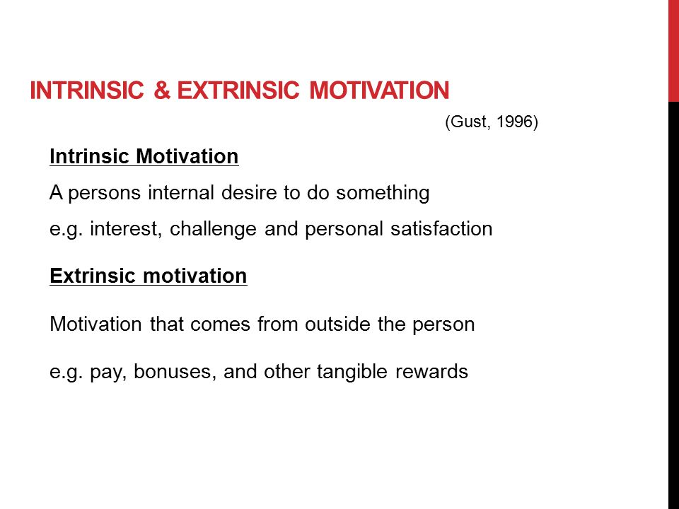 intrinsic motivation and extrinsic motivation pdf