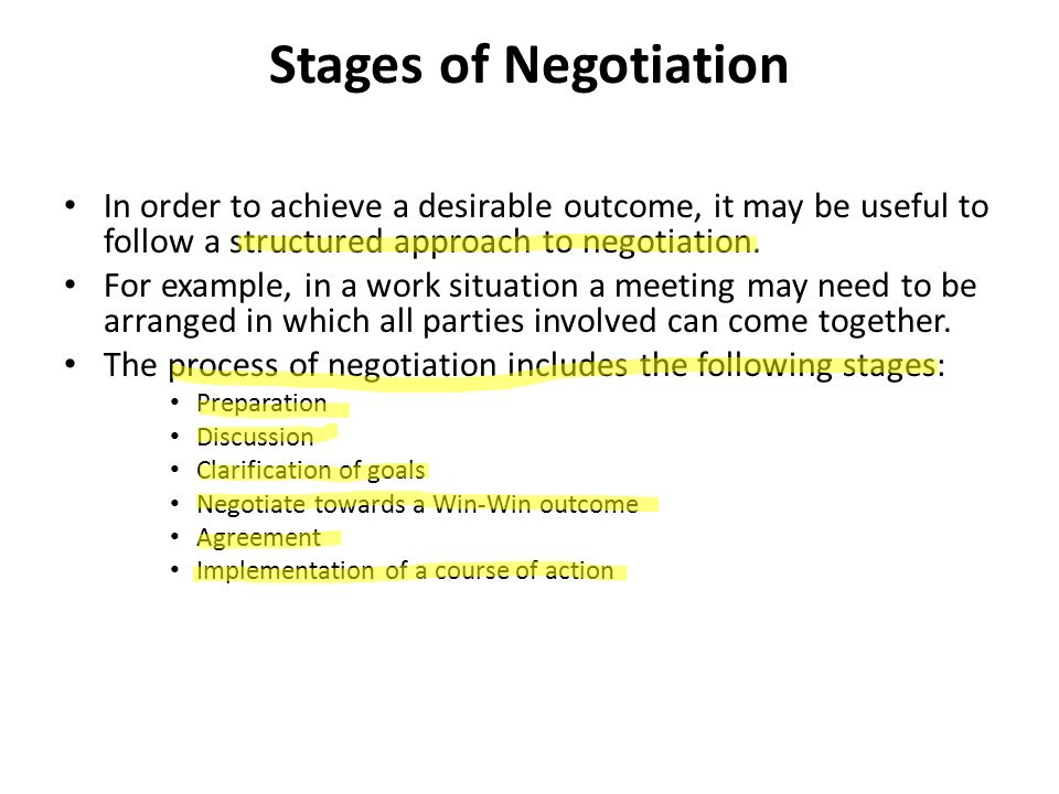 Negotiation skills for clinical research professionals