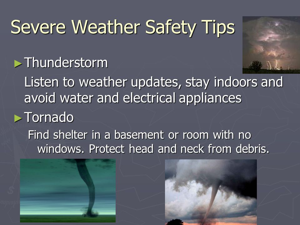 Severe Weather Safety : Forecasting the weather ppt download