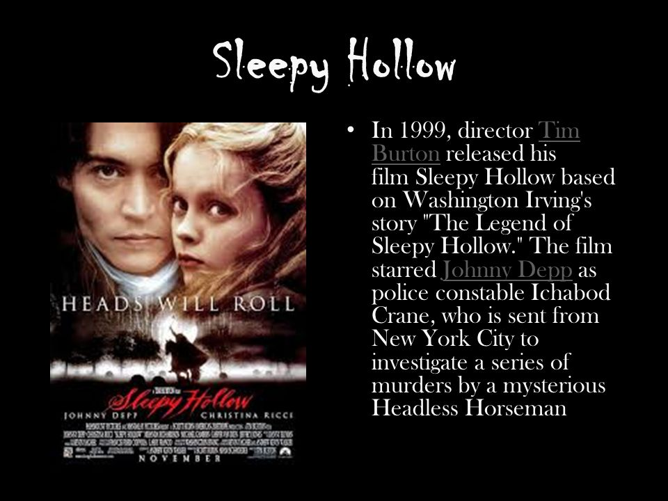 the legend of sleepy hollow ppt download