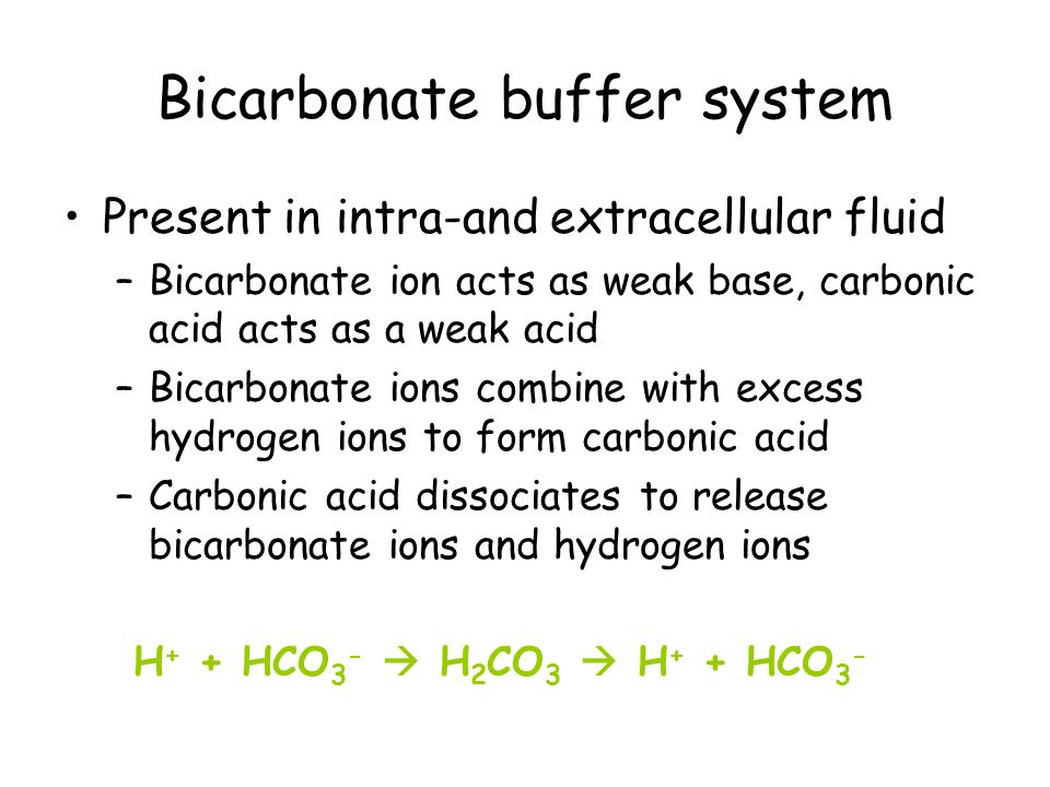 Acid-Base balance and buffer systems in the human body - ppt video ...