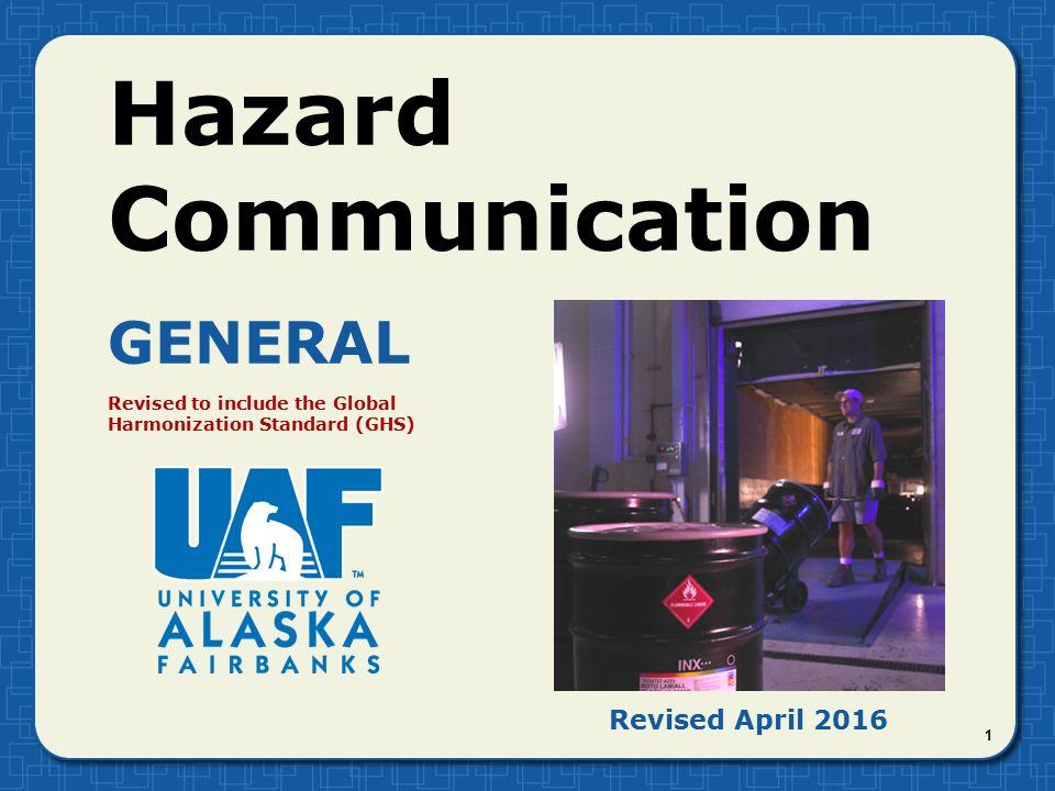 Hazard Communication General Revised April Ppt Video