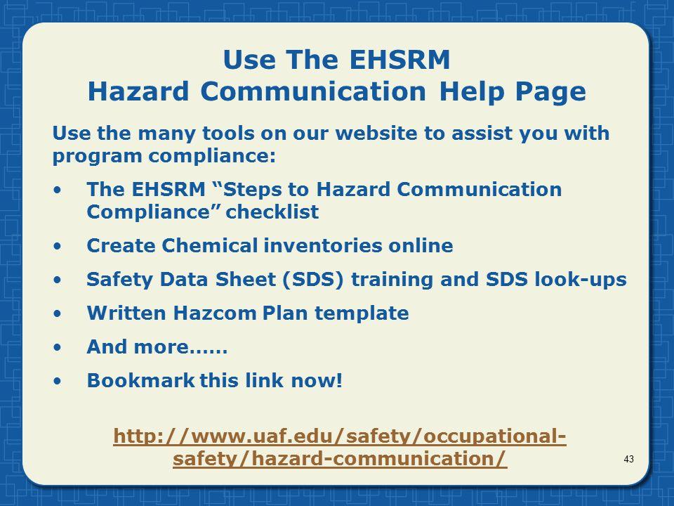 ehs program template
