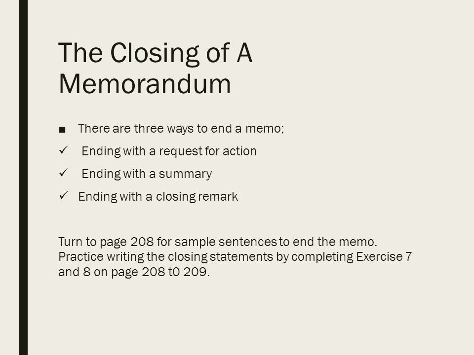 how to make a closing sentence for a summary