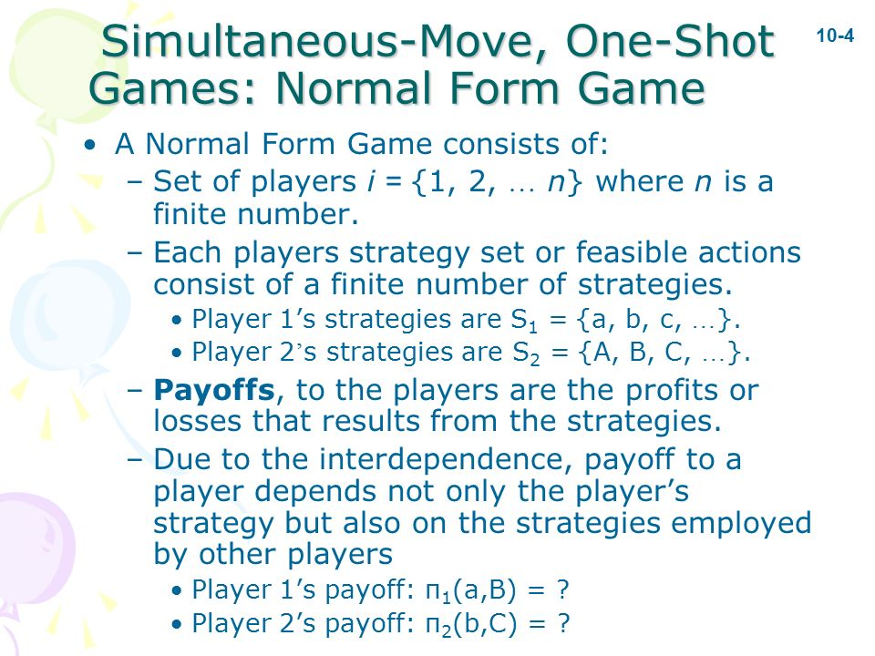 BUS 525: Managerial Economics Game Theory: Inside Oligopoly - ppt ...