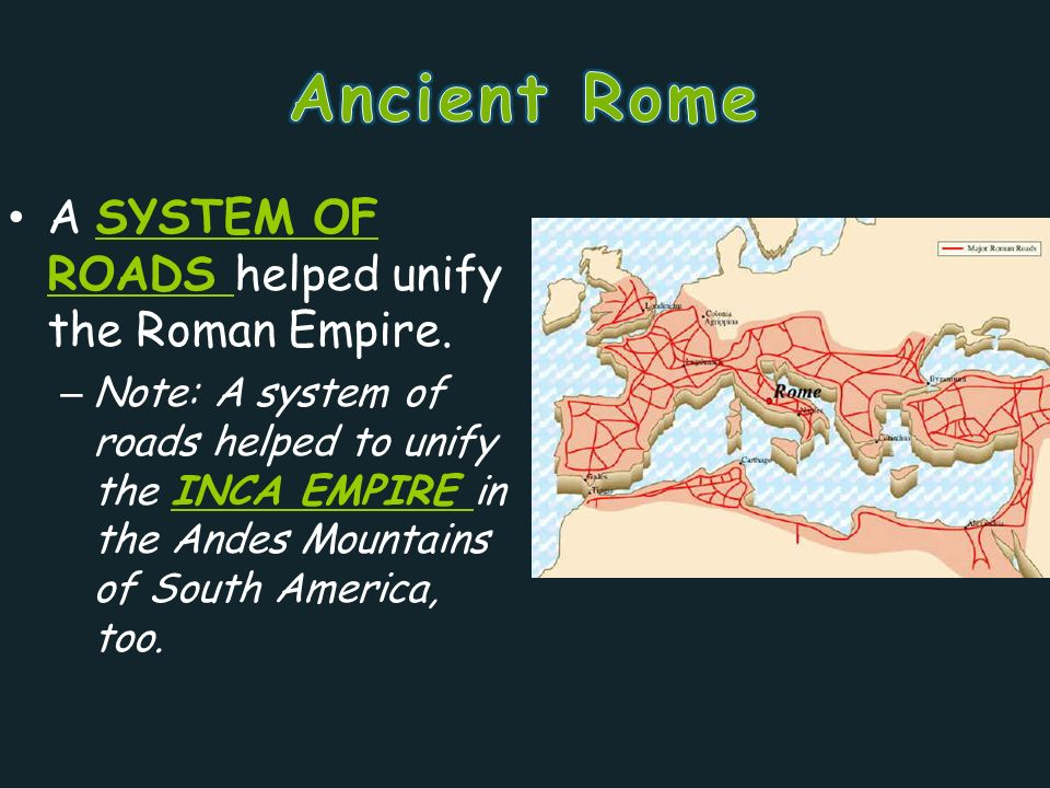 roman empire notes This 15-page roman empire student notes packet (and answer key) is  aligned to the standards for 7th grade world geography and includes class work, .