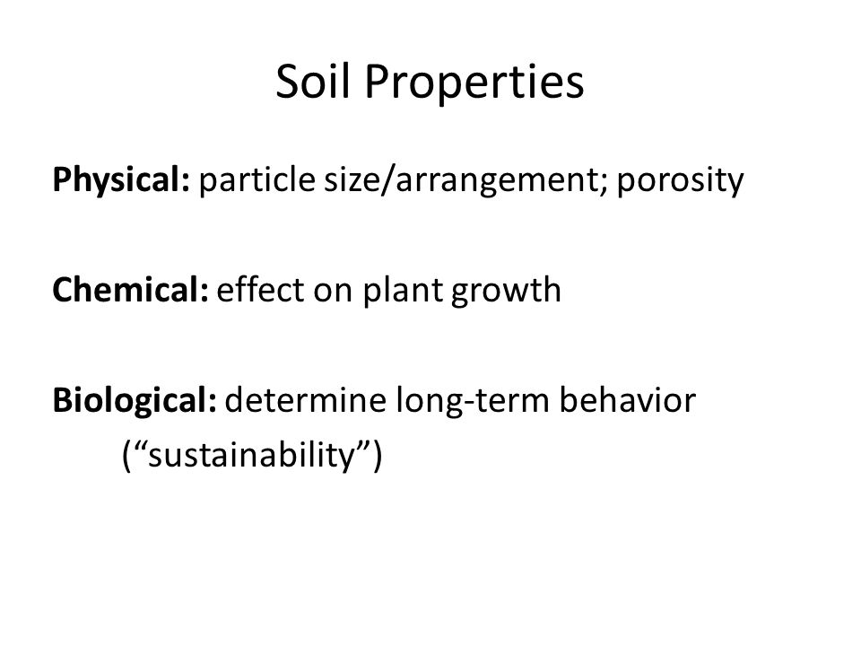 Mlra soil survey leader ppt video online download for Physical and chemical properties of soil wikipedia