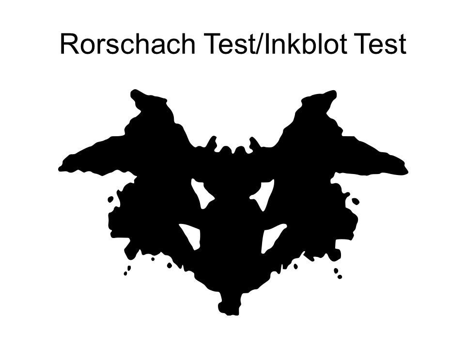 10 Rorschach Test Inkblot