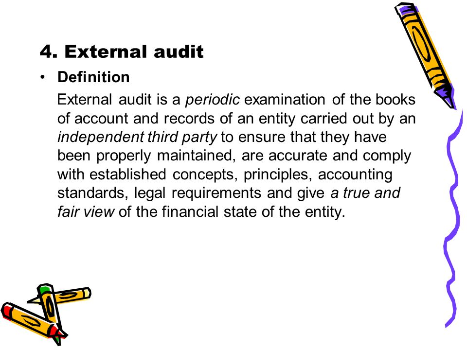 Amazing External Audit Definition