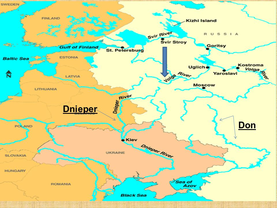 Images of Don River Map Russia - #rock-cafe on
