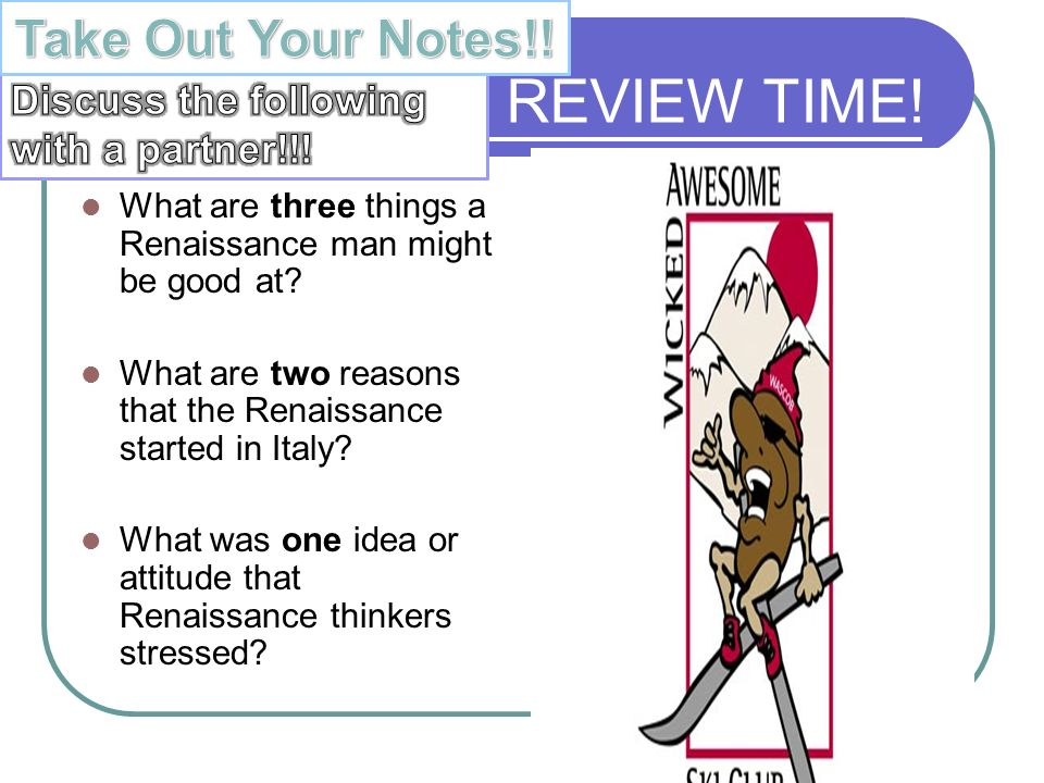 an essay on the reasons renaissance started in italy Name three reasons the renaissance began in  what are reasons that the renaissance began in italy  can there be more than 5 paragraphs in an essay.