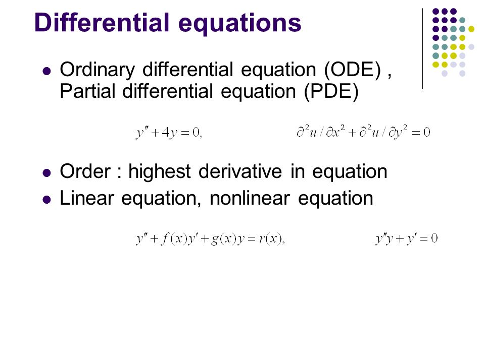 ordinary differential equation Download free lecture notes-pdf link-xvi.