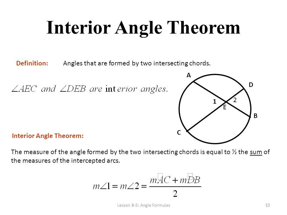 Circle Unit Part 4 Angles Ppt Download