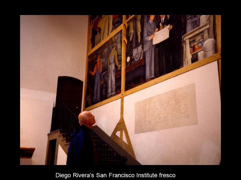 The mexican mural movement ppt video online download for Diego rivera mural san francisco art institute