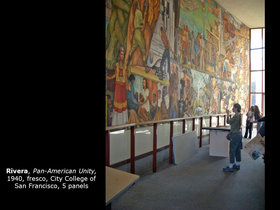 The mexican mural movement ppt video online download for City college of san francisco diego rivera mural
