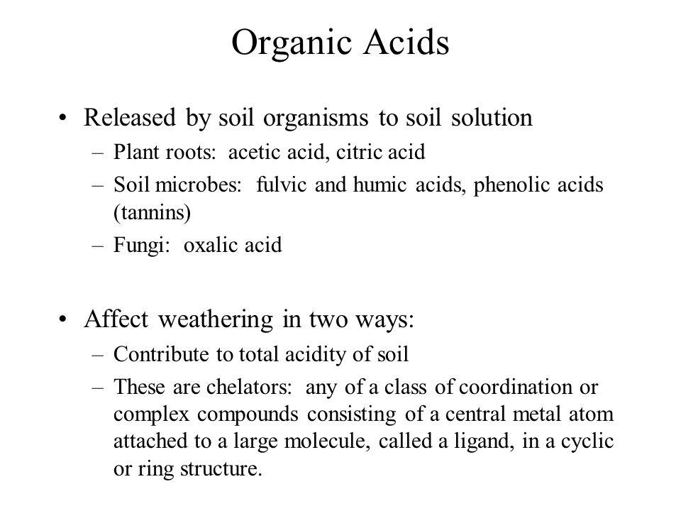 Biogeochemistry chapter 4 the lithosphere ppt video for Organic soil solutions