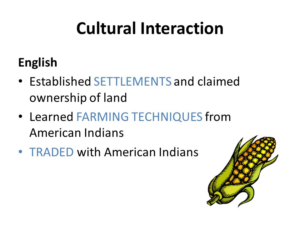 interaction with american culture In us american culture healthcare providers need to be familiar with the normative cultural values affecting interactions with their patients from different.