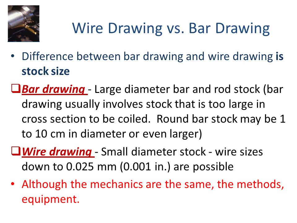 Difference Between Scrabble And Drawing : Difference between wire drawing and tube all