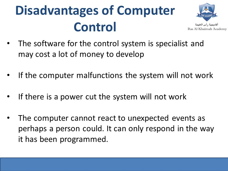 disadvantages of computerize enrollment system