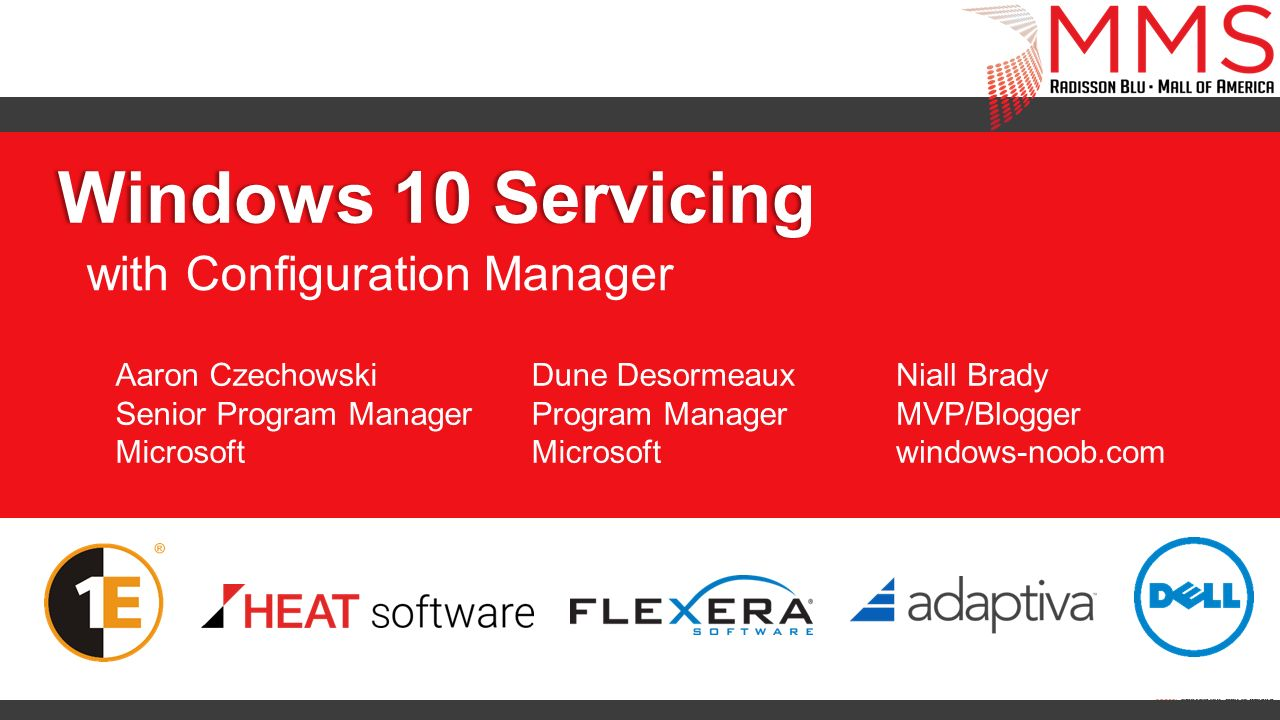 with Configuration Manager
