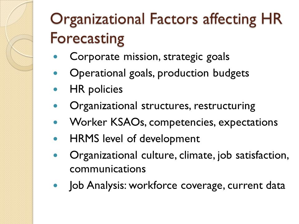 factors affecting organizational culture Learn about the most important factors that directly affect organizational culture and the employees who work at the organization.