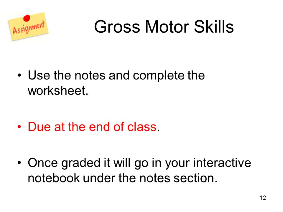 observation gross motor skills Chapter 5: observation and assessment children to explore the same gross motor skill in many ways from these learning experiences.
