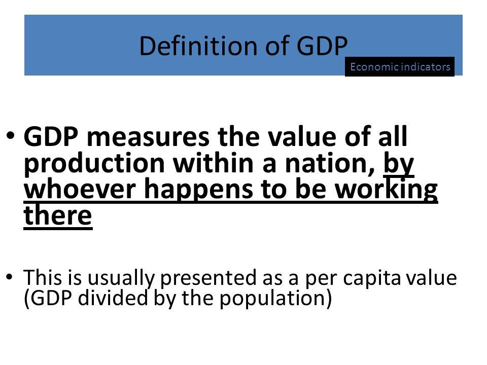 definitions of economic development pdf