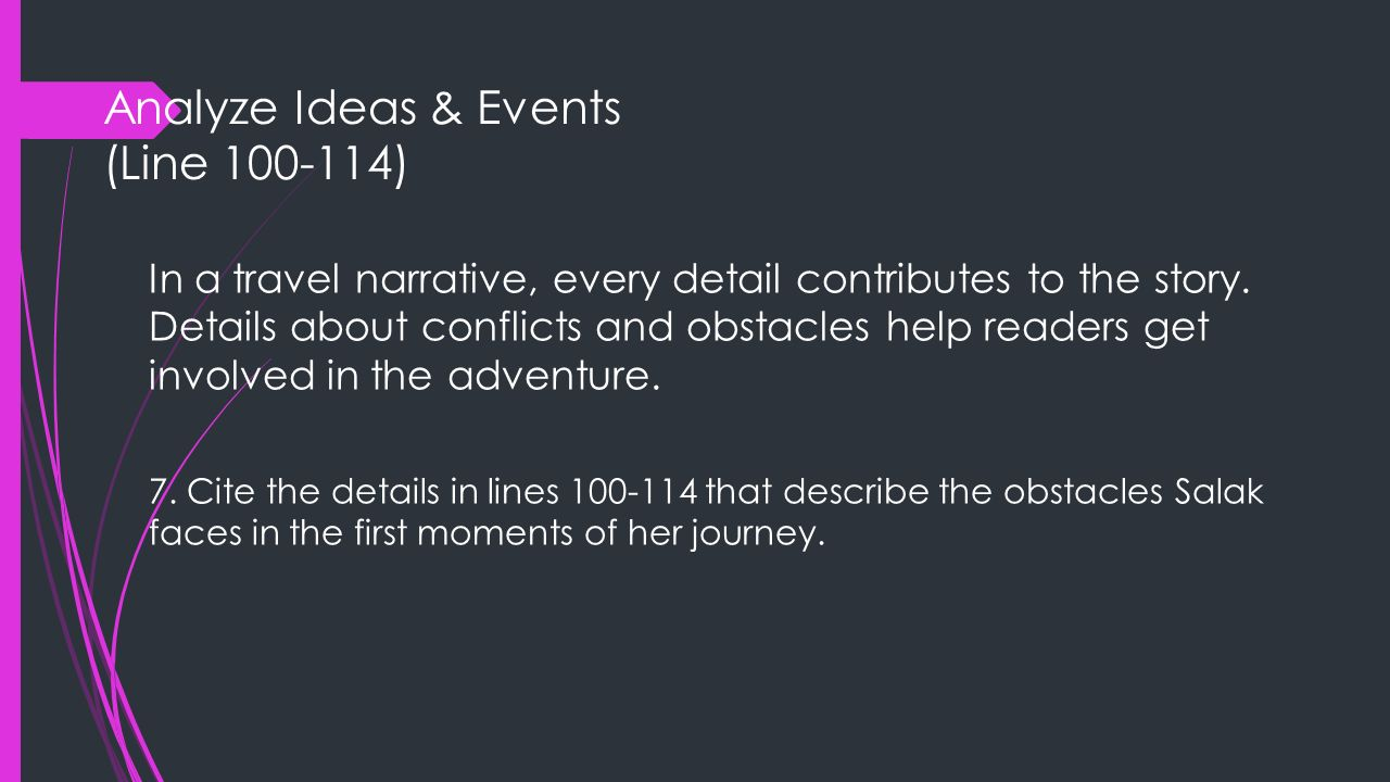 Analyze Ideas & Events (Line 100-114)