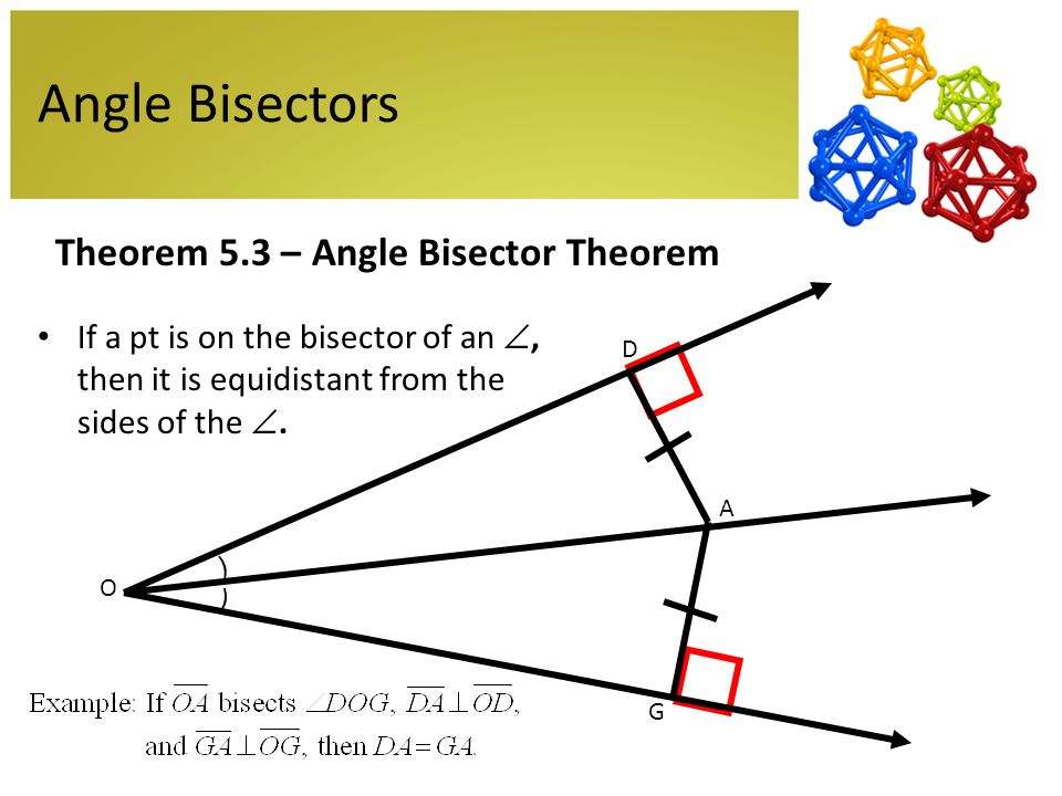 Congruent Angles and Angle Bisectors ( Read ) | Geometry | CK-12 ...