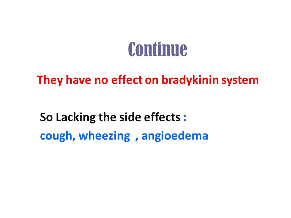 Diovan Side Effects Cough