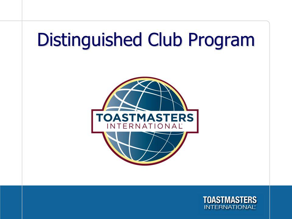 Distinguished Club Program